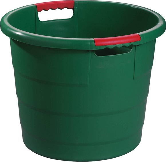 Universal round container green
