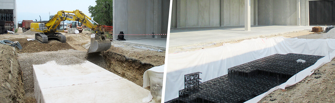 Reference report Infiltration of GRAF for Factory Building Sandrigo