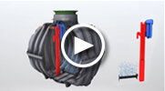 Wastewater treatment system one2clean - smart and simple!